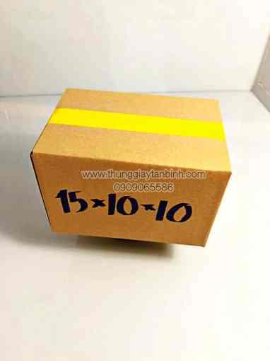 Thùng giấy size 15x10x10cm